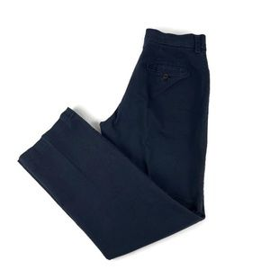 Lee Womens Pants Relaxed Straight Blue 8 Medium